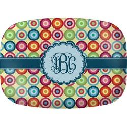 Retro Circles Melamine Platter (Personalized)