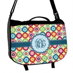 Retro Circles Messenger Bag (Personalized)