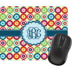 Retro Circles Mouse Pads (Personalized)