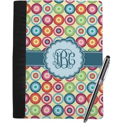 Retro Circles Notebook Padfolio (Personalized)
