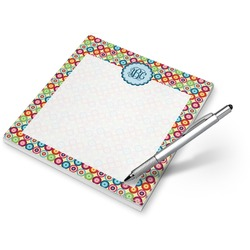 Retro Circles Notepad (Personalized)
