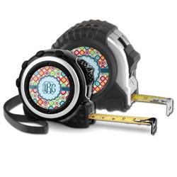 Retro Circles Tape Measure (Personalized)