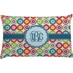Retro Circles Pillow Case (Personalized)