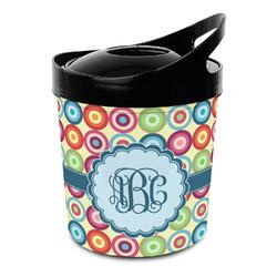 Retro Circles Plastic Ice Bucket (Personalized)