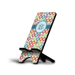 Retro Circles Phone Stand (Personalized)