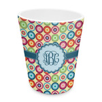 Retro Circles Plastic Tumbler 6oz (Personalized)