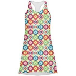 Retro Circles Racerback Dress (Personalized)