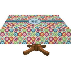 Retro Circles Tablecloth (Personalized)