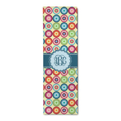 Retro Circles Runner Rug - 3.66'x8' (Personalized)