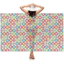 Retro Circles Sheer Sarong (Personalized)