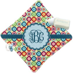 Retro Circles Security Blanket (Personalized)