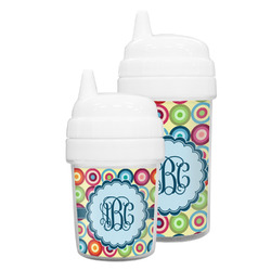 Retro Circles Sippy Cup (Personalized)