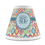 Retro Circles Chandelier Lamp Shade (Personalized)