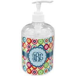 Retro Circles Soap / Lotion Dispenser (Personalized)