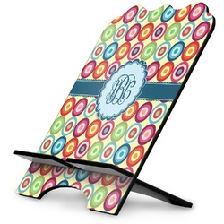 Retro Circles Stylized Tablet Stand (Personalized)