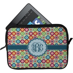 Retro Circles Tablet Case / Sleeve (Personalized)