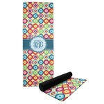 Retro Circles Yoga Mat (Personalized)