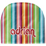 Retro Vertical Stripes Baby Hat (Beanie) (Personalized)