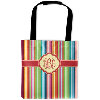 Retro Vertical Stripes Auto Back Seat Organizer Bag (Personalized)