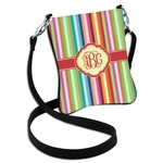 Retro Vertical Stripes Cross Body Bag - 2 Sizes (Personalized)