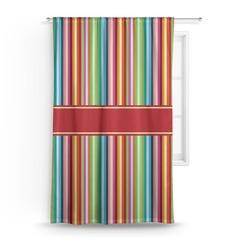 Retro Vertical Stripes Curtain (Personalized)