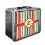 Retro Vertical Stripes Lunch Box (Personalized)
