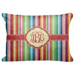 "Retro Vertical Stripes Decorative Baby Pillowcase - 16""x12"" (Personalized)"