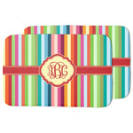 Retro Vertical Stripes Dish Drying Mat (Personalized)