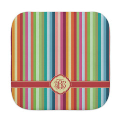 Retro Vertical Stripes Face Towel (Personalized)