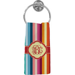Retro Vertical Stripes Hand Towel - Full Print (Personalized)