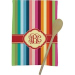 Retro Vertical Stripes Kitchen Towel - Full Print (Personalized)