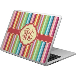 Retro Vertical Stripes Laptop Skin - Custom Sized (Personalized)