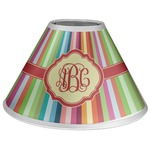 Retro Vertical Stripes Coolie Lamp Shade (Personalized)
