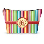 Retro Vertical Stripes Makeup Bags (Personalized)