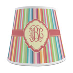 Retro Vertical Stripes Empire Lamp Shade (Personalized)