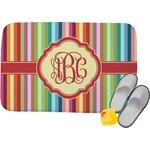 Retro Vertical Stripes Memory Foam Bath Mat (Personalized)