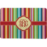 Retro Vertical Stripes Comfort Mat (Personalized)