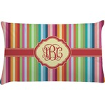 Retro Vertical Stripes Pillow Case (Personalized)