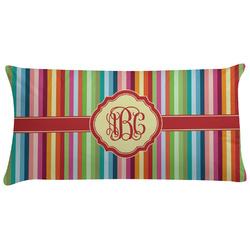 Retro Vertical Stripes Pillow Case (Personalized)
