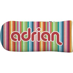Retro Vertical Stripes Putter Cover (Personalized)