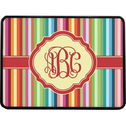 Retro Vertical Stripes Rectangular Trailer Hitch Cover (Personalized)