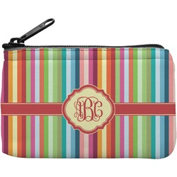 Retro Vertical Stripes Rectangular Coin Purse (Personalized)