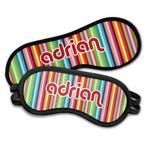 Retro Vertical Stripes Sleeping Eye Masks (Personalized)