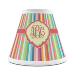 Retro Vertical Stripes Chandelier Lamp Shade (Personalized)