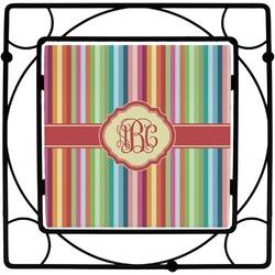 Retro Vertical Stripes Trivet (Personalized)