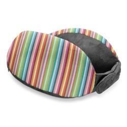 Retro Vertical Stripes Travel Neck Pillow