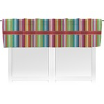 Retro Vertical Stripes Valance (Personalized)