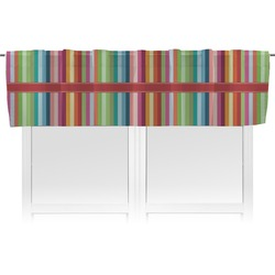 Retro Vertical Stripes Valance (Personalized)