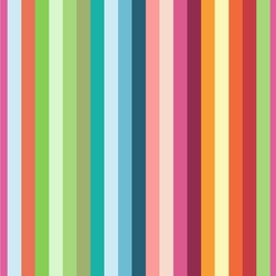 Retro Vertical Stripes Wallpaper & Surface Covering