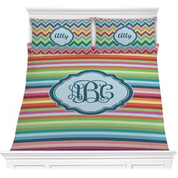 Retro Horizontal Stripes Comforters (Personalized)